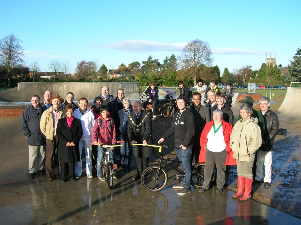 Opening of the updated Skate Park Facilities